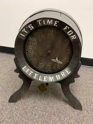 Antique barrel clock for Sale in Garland, TX