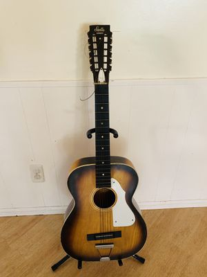 1960'S STELLA HARMONY ACOUSTIC GUITAR for Sale in Carlsbad, CA