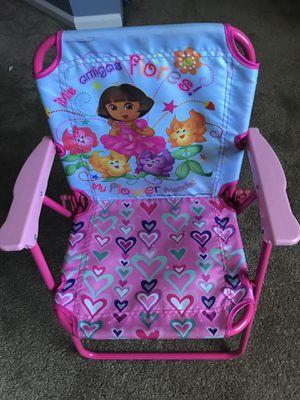 Dora kids folding chair for Sale in Aurora, CO