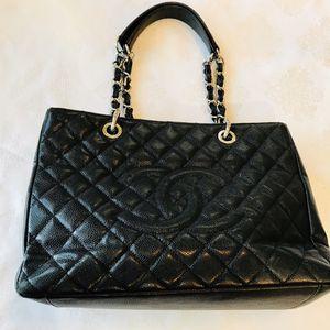 Chanel Grand Shopping Tote Bag Black Noir for Sale in El Cajon, CA
