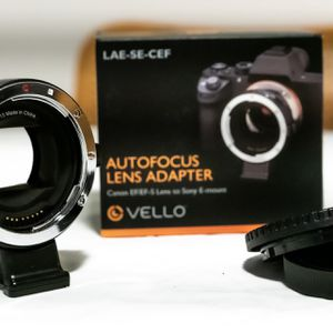 Canon EF to Sony E-Mount Adapter for Sale in Los Angeles, CA