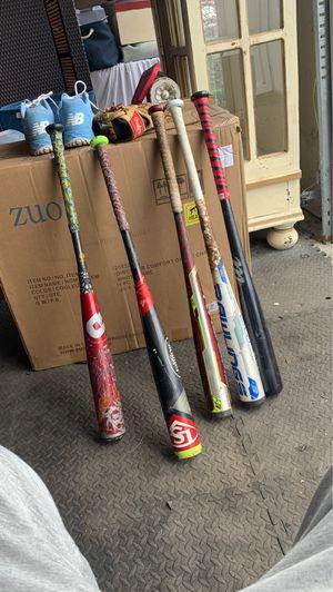 All 32 baseball bats -3 for Sale in Morristown, NJ