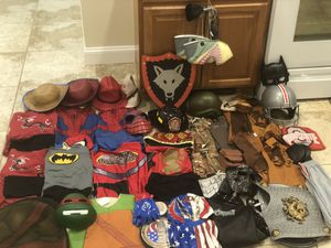 Halloween play costumes size 6 to large smoke and pet free for Sale in Taunton, MA
