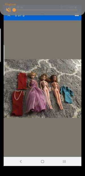 Vintage dolls barbie and tressy for Sale in Stoughton, MA