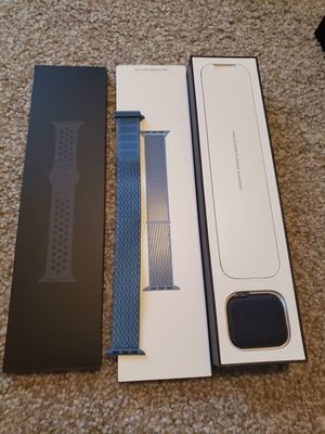 Apple watch series 4 44mm Nike edition for Sale in Ashburn, VA