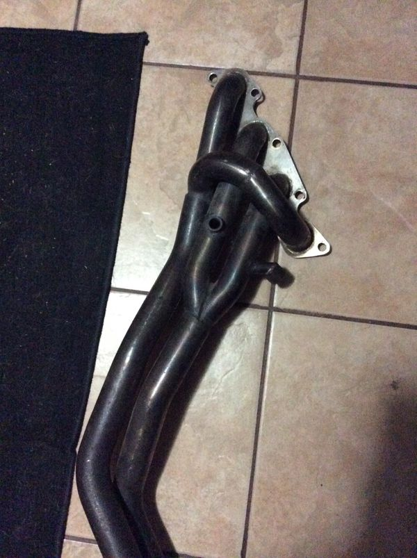 Nissan 240sx KA24DE ISR performance headers