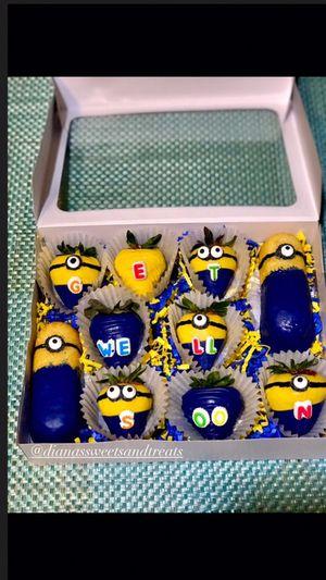 Kids cartoon gift set 🍫🍓 for Sale in Fresno, CA
