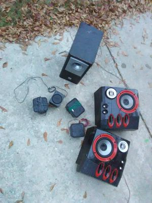 Small rca and sony bigger are tweeter brand for Sale in Kingston, GA
