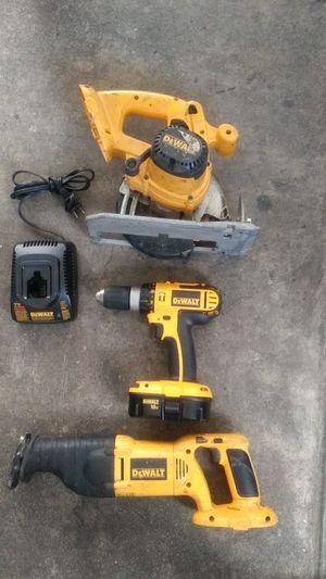 DeWalt sawzaw, drill, skill saw for Sale in Azusa, CA