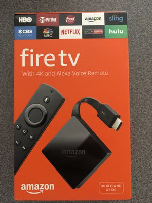 Amazon Fire TV 4K for Sale in Nashville, TN