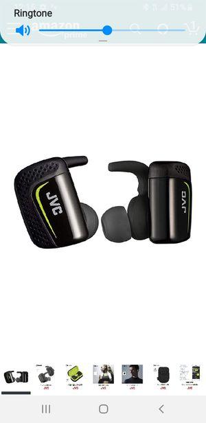 JVC True Wireless Earbuds for Sports & Fitness, Sweat/Water for Sale in Fresno, CA