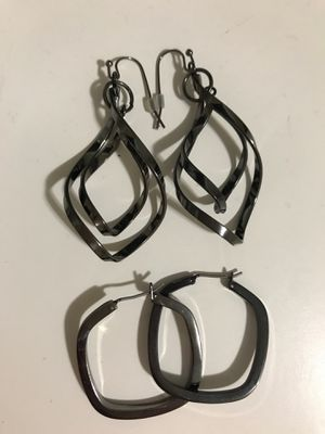 Chrome earring sets for Sale in Oakland, CA