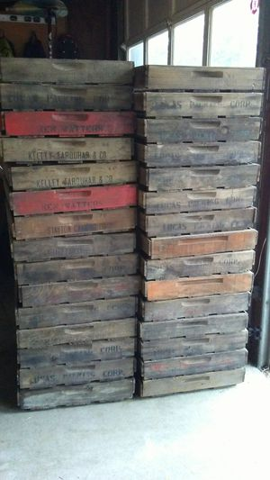 Antique Wooden Berry Fruit Box Crate Flat for Sale in Portland, OR