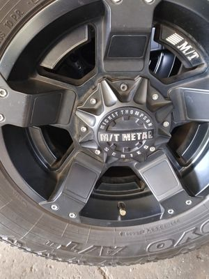 Mt Mickey Thompson wheels and toyo tires for Sale in Statesville, NC