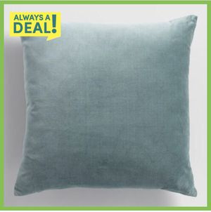 Cost Plus World Market Slate Green Velvet Throw Pillow (set of 2) for Sale in Seattle, WA