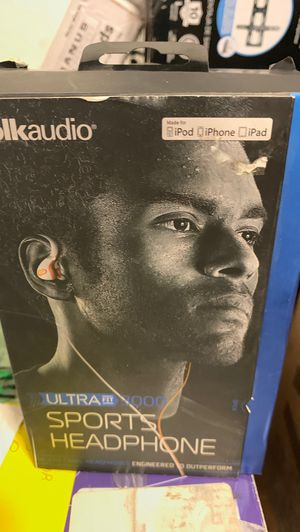 Polk Audio ICES-003 Headphone Ultra Fit open box like new for Sale in Doral, FL
