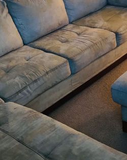 Sectional sofa left arm microfiber for Sale in Union City,  CA