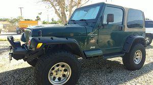2000 Jeep Wrangler Sahara 4x4 for Sale in Thousand Palms, CA