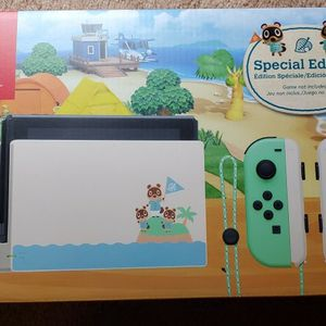 Animal Crossing Nintendo Switch special edition console system BRAND NEW for Sale in Mesa, AZ