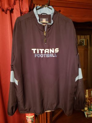 Tennessee Titans Pull Over Jacket XL/2 XL for Sale in Nashville, TN