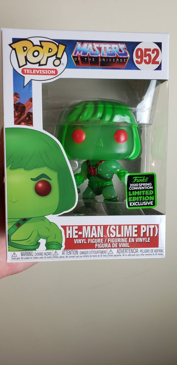 Funko Pop! He-Man Slime Pit Masters Of The Universe 952 ECCC