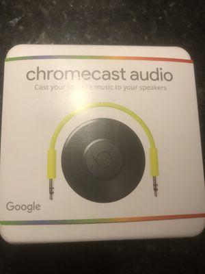 Google Chromecast Audio Media streamer for Sale in Boca Raton, FL