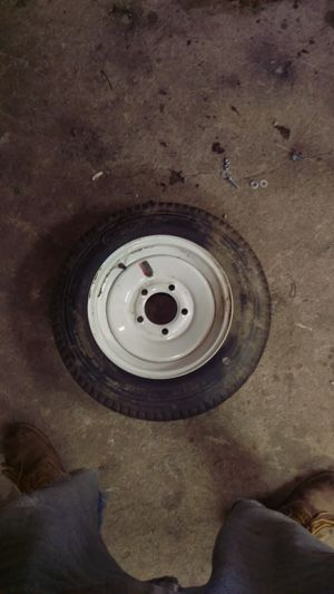 New 4.80-12 tires fit most trailers , boat too for Sale in Bargersville, IN