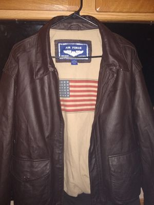Air Force Leather Bombers Jacket for Sale in Monroe, LA