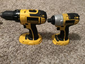 DeWalt 18v 4 tool Power Combo Drill Driver Saw for Sale in Center Line, MI