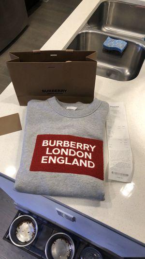 Burberry crew neck for Sale in Dallas, TX