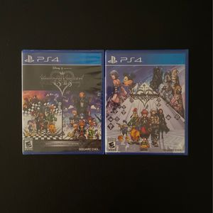 PS4 GAME - KINGDOM HEARTS BUNDLE for Sale in Buena Park, CA