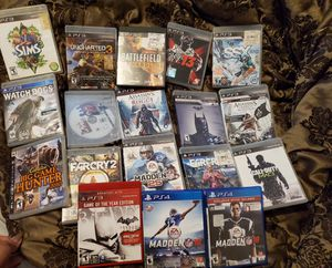 18 PS3 GAMES for Sale in New Britain, CT