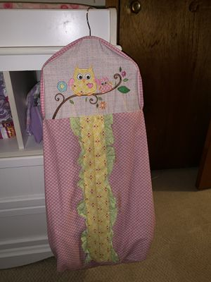 Baby Girl Diaper Hanger for Sale in Millers, MD