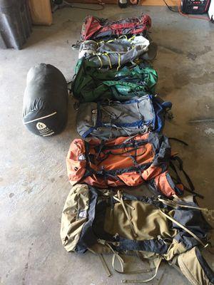 2018 granite gear packs. 2018 Sierra designs sleeping bags for Sale in Orem, UT
