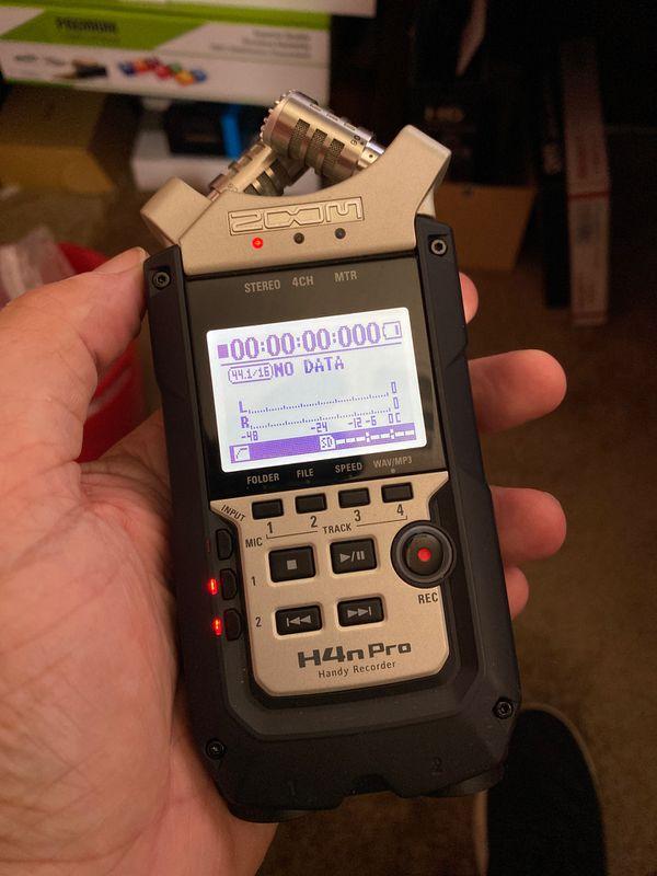 Zoom H4N Pro Digital Audio Recorder
