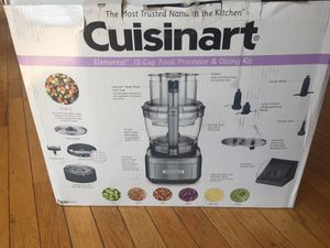 Cuisinart Elemental 13-Cup Food Processor and Dicing Kit for Sale in Charlottesville, VA
