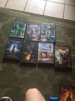 Movie for 20.00 each for Sale in LAUREL PARK, WV