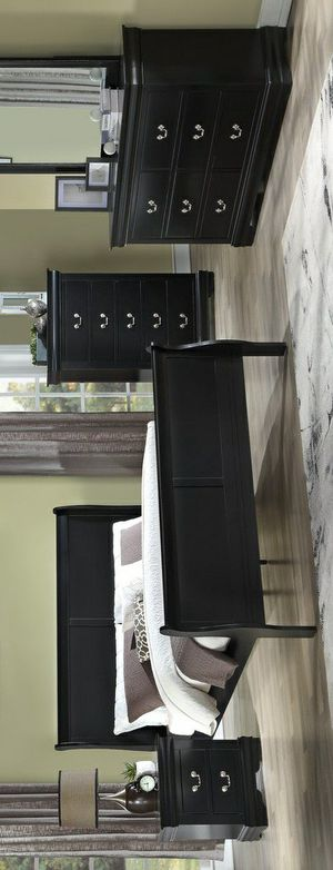 🧿SAMEDAY DELIVERY 🧿HOT DEAL]Louis Philip Black Youth Bedroom Set for Sale in Jessup, MD