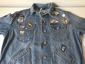 NEW Wrangler Size: Small. Oversized Jean Jacket for Sale in Arlington, VA
