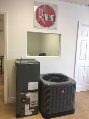 Rheem air conditioners new 3 ton , ventas de aire Acondicionado for Sale in Orlando, FL