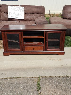 Sectional Couch/Tv Stand for Sale in Erie, CO