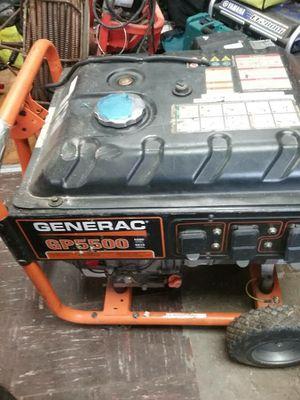 Generac GP series 5500 portable generator for Sale in Baltimore, MD