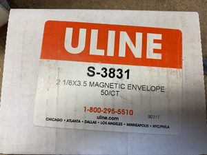 """Warehouse Shelf Magnetic Label 3.5"""" X 2 1/4"""" 50 pack for Sale in Irvine, CA"""