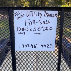 Brand new utility trailer for Sale in Clermont, FL
