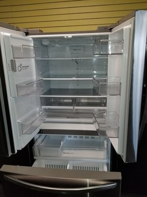 """LG 36""""wide new Open box french door stainless steel refrigerartor 6months warranty for Sale in McDonogh, MD"""