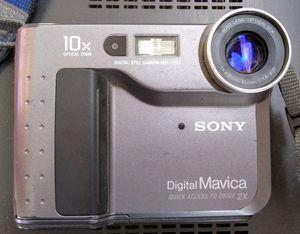 Vintage Sony Mavica 3.5 inch Floppy Digital Still Camera for Sale in El Paso, TX