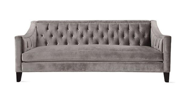 Velvet Sofa (ZGALLERIE)