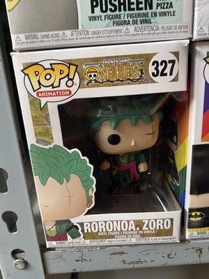 One Piece Roronoa Zoro #327 Funko POP for Sale in Lakewood, CA