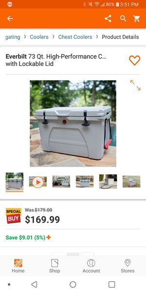 Cooler for Sale in Turlock, CA