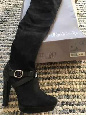 Jennifer Lopez thigh high boots for Sale in Brentwood, TN